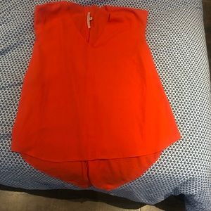 Beautiful orange top
